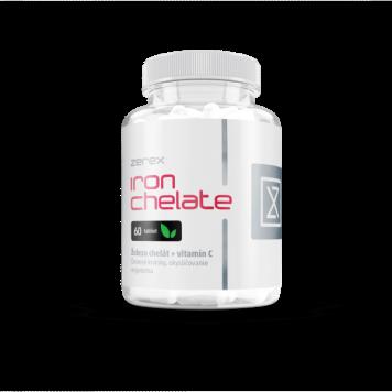 Zerex Železo chelát + Vitamín C 60 tabliet