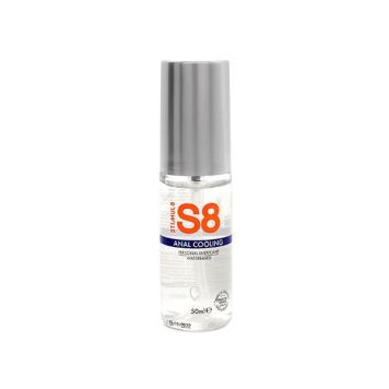 S8 Anal Cooling análny lubrikačný gél chladivý 50ml