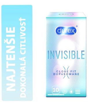 Durex Invisible Close Fit krabička 10 ks