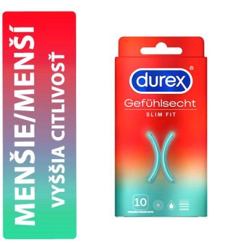 Durex Slim Fit krabička 10 ks