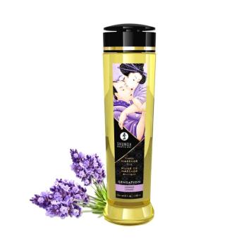 Shunga Sensation erotický masážny olej Levanduľa 240ml