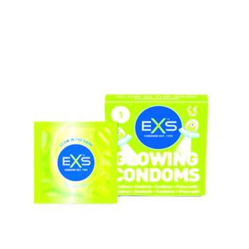EXS Glow In The Dark krabička 3 ks