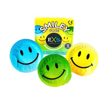 EXS Smiley Face krabička 3 ks