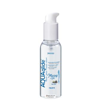 Joydivision Aquaglide Massage+Glide 2in1 NEUTRAL masážny gél 200 ml