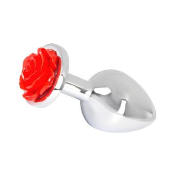 You2Toys Rose Butt Plug kovový análny šperk