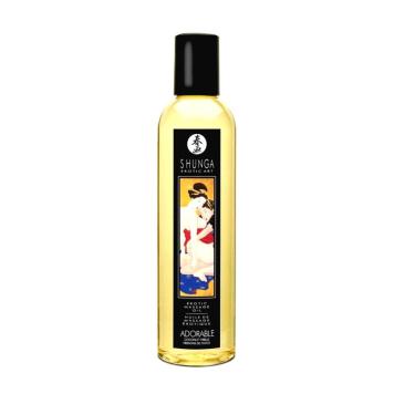 Shunga Adorable erotický masážny olej Kokos 250ml