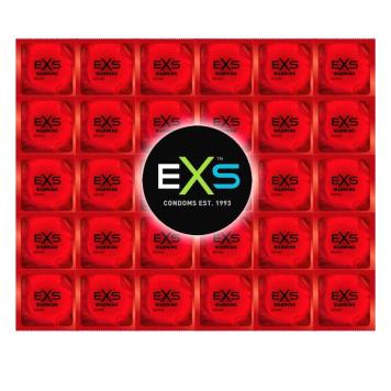 EXS Warming hrejivé kondómy 144 ks