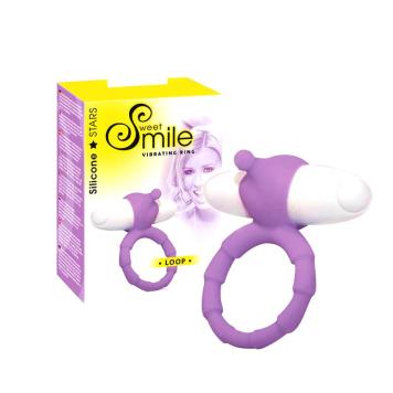 Sweet Smile Loop vibračný krúžok na penis